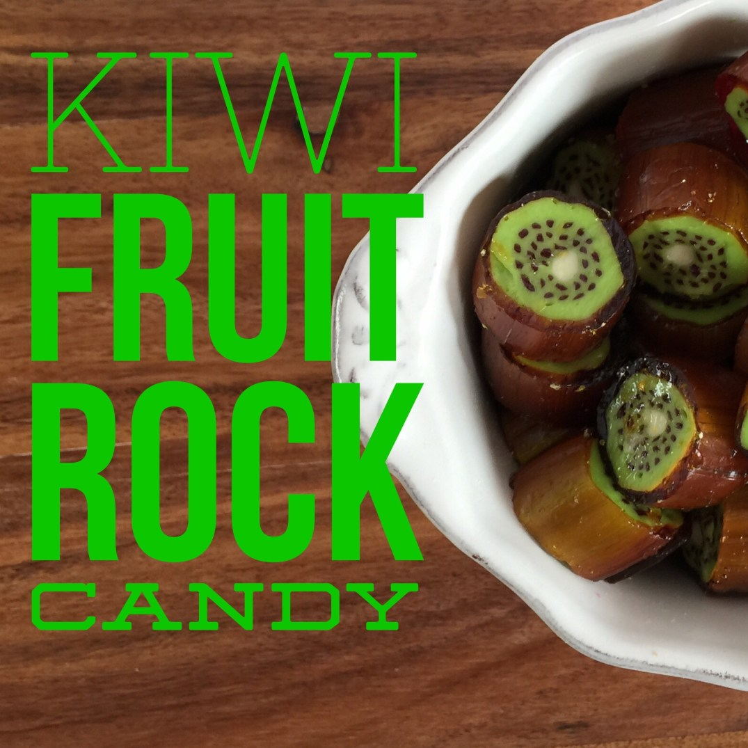 Kiwi Fruit Rock Candy