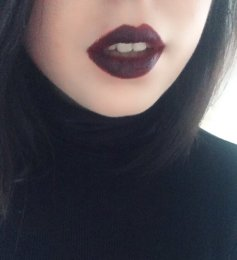 These lips are definitely a statement look