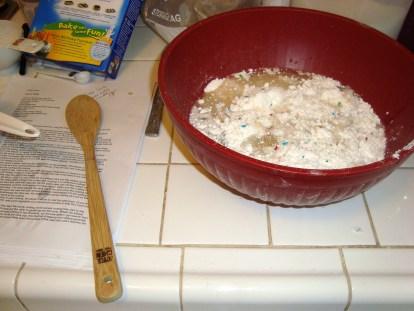 Making my cake