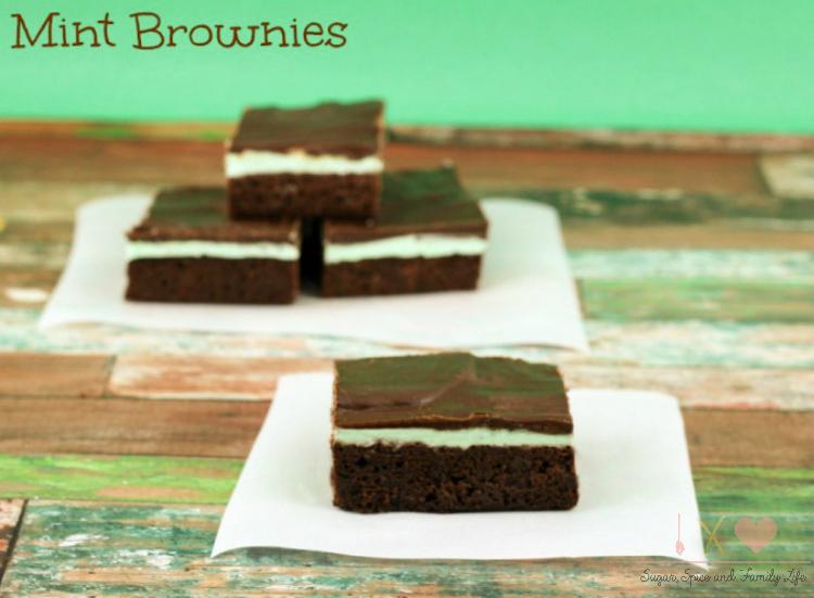 Mint-Brownies