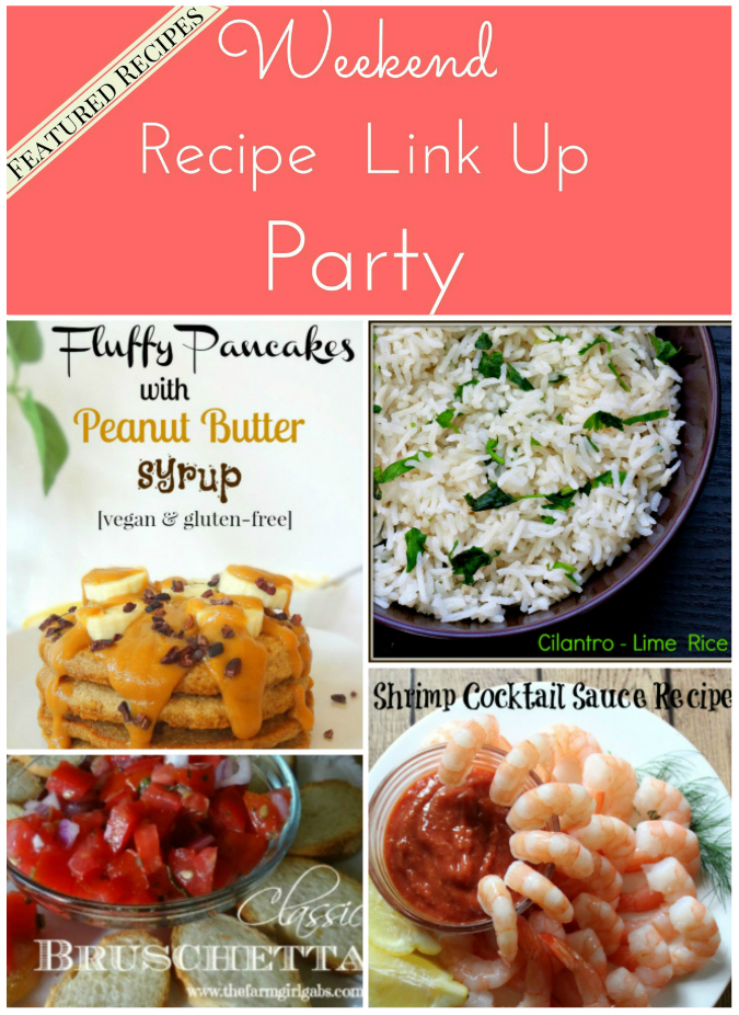 Weekend Recipe Link Up Party featured recipes 16