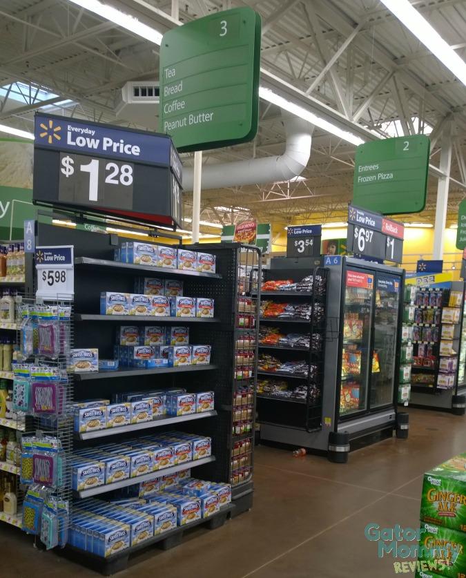 Walmart Peanut Butter Aisle #PBandG #ad #cbias
