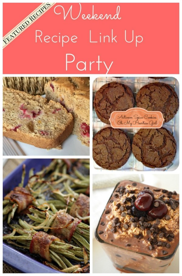 Weekend Recipe Link Up Party featured recipes 33