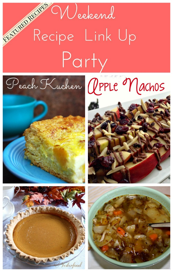 Weekend Recipe Link Up Party featured recipes 34