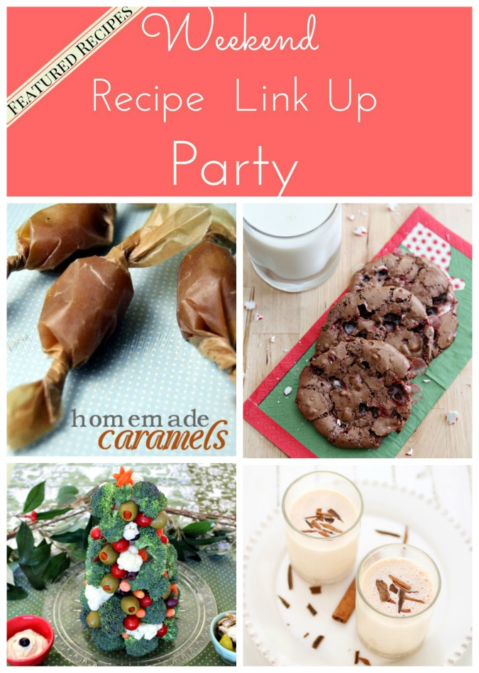 Weekend Recipe Link Up Party featured recipes 37