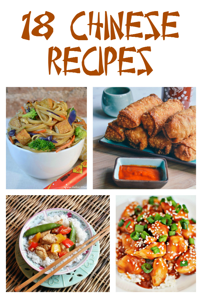 18 Chinese Recipes