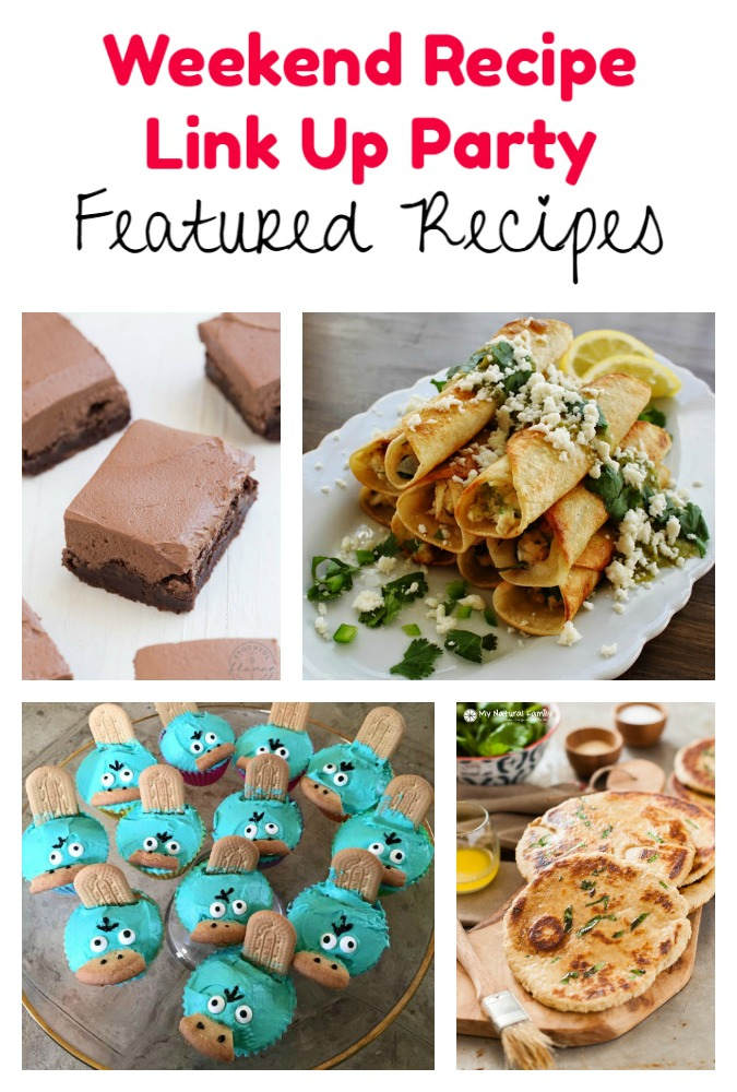 Weekend Recipe Link Up Party featured recipes 58