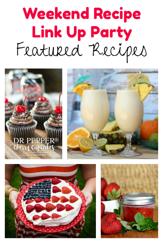 Weekend Recipe Link Up Party featured recipes 60