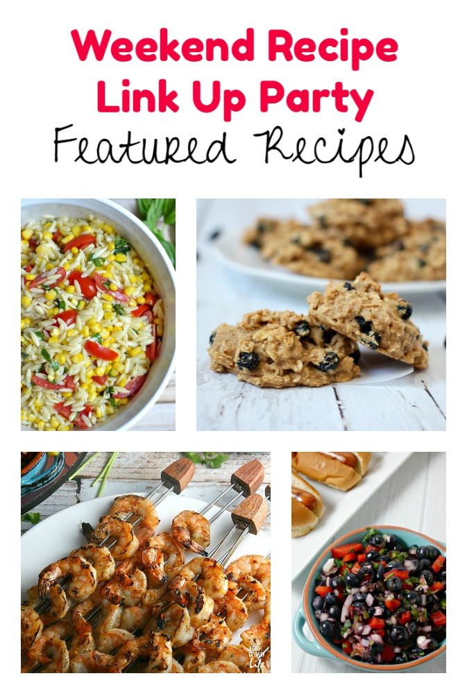 Weekend Recipe Link Up Party featured recipes 67