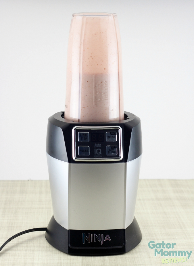 Banana Split Smoothie in Nutri Ninja
