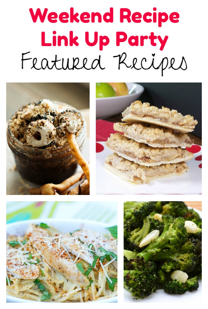Weekend Recipe Link Up Party featured recipes 75
