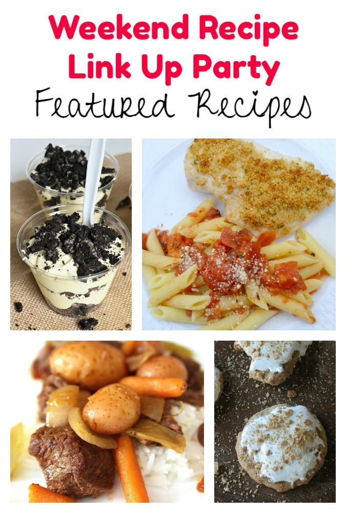 Weekend Recipe Link Up Party featured recipes 76