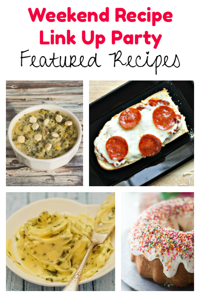 Weekend Recipe Link Up Party featured recipes 85