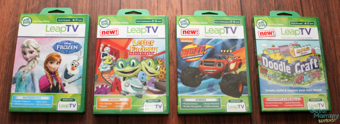 LeapTV games