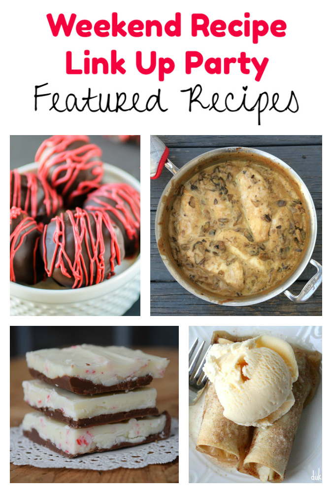 Weekend Recipe Link Up Party featured recipes 95