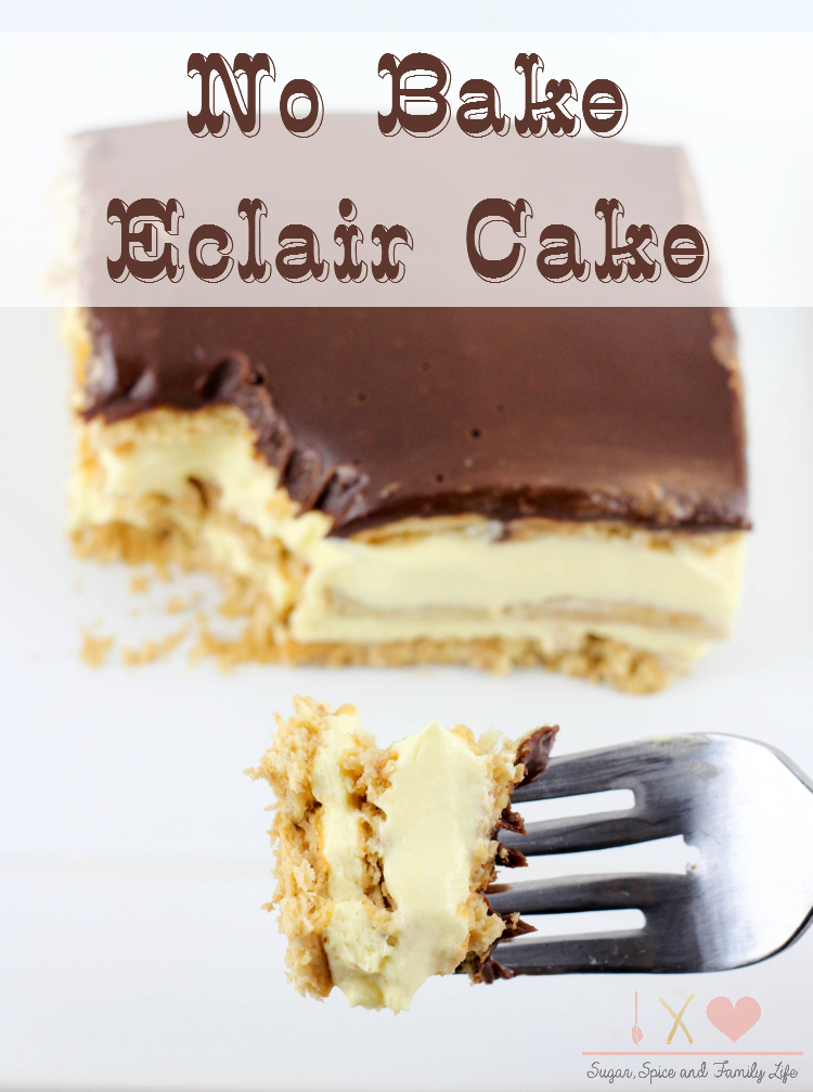 Chocolate Topping For Eclair Cake