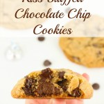 Kiss Stuffed Chocolate Chip Cookies