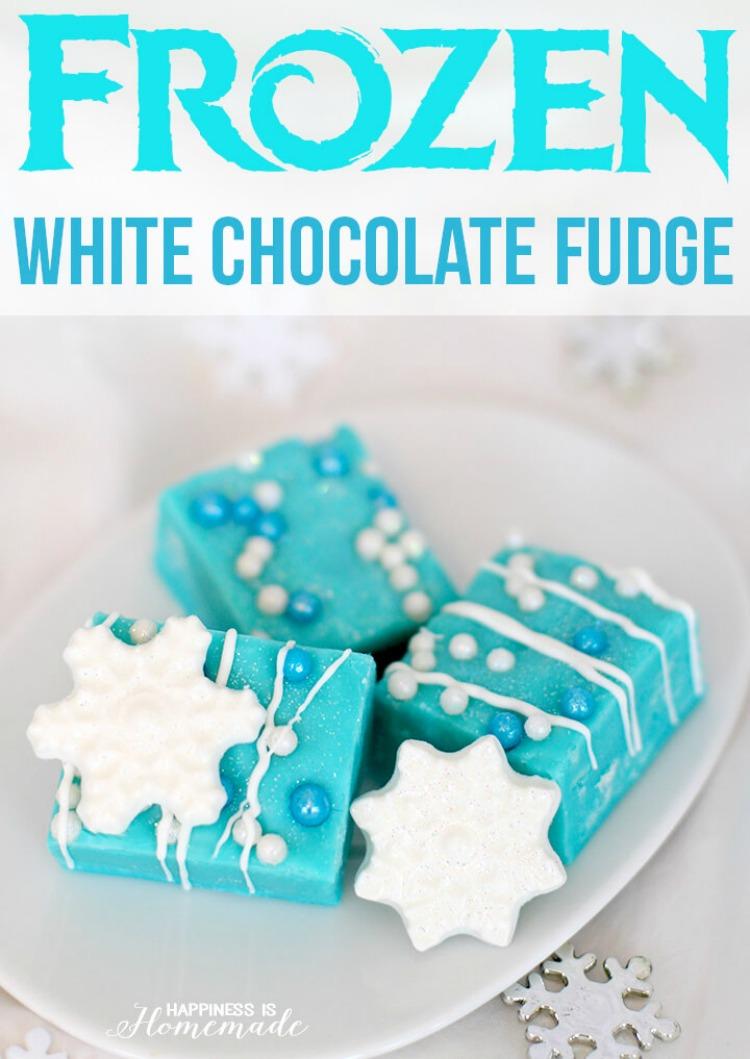Frozen White Chocolate Fudge