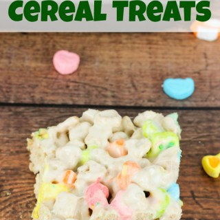 Lucky Charms Cereal Treats