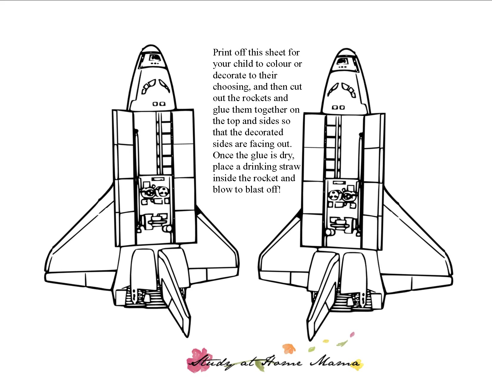 Rocket Science Experiment For Kids Amp Free Printable