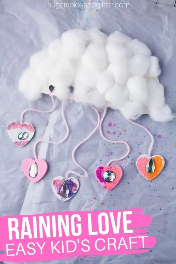 There are cloud pillows that are very easy to be made. Raining Love Cloud Craft Sugar Spice And Glitter