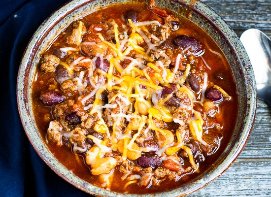 Easy Beef and Bean Chili (Slow Cooker or Instant Pot)