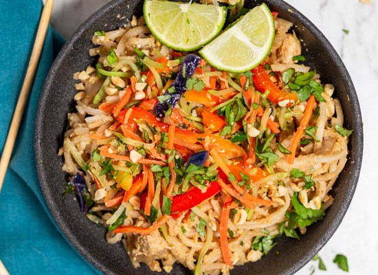 Asian Noodles with Peanut Sauce