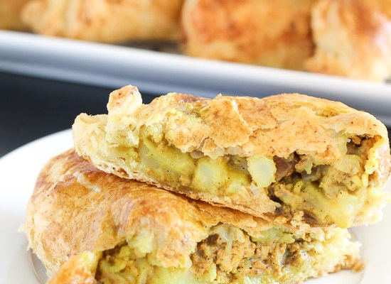 Indian Pot Pie Turnovers