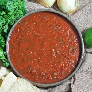 Restaurant Style Blender Salsa
