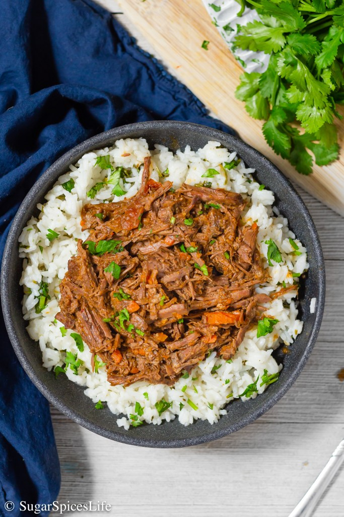 Tender, shredded beef with tons of delicious flavor, made in your Instant Pot or slow cooker. This Barbacoa Beef is great in tacos or over cilantro lime rice.