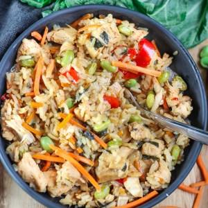 Wasabi Teriyaki Chicken and Rice