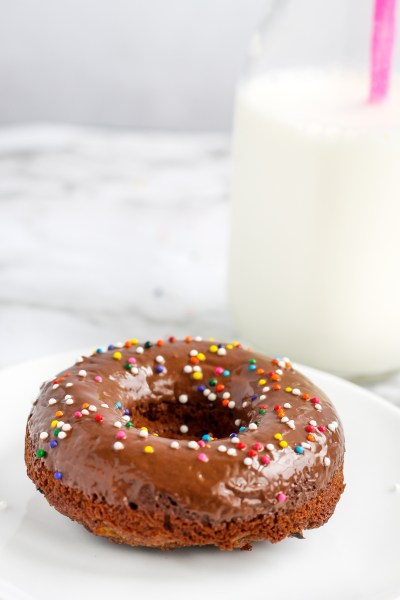 Chocolate Zucchini Donuts. Delicious, amazing chocolate donuts with a chocolate frosting. The best way ever to have vegetables for breakfast.