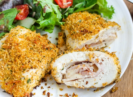 Bacon Chicken Cordon Bleu