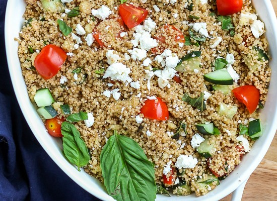 Fresh Herb and Vegetable Couscous Salad