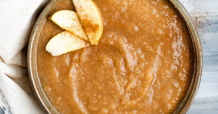 Instant Pot Apple Cider Apple Sauce