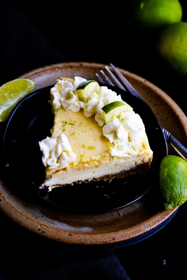 Instant Pot Key Lime Pie. Creamy, perfectly sweet and tangy key lime filling in a lightly sweetened graham cracker crust. Topped with fresh, key lime whipped cream. Made quickly and easily in your Instant Pot!