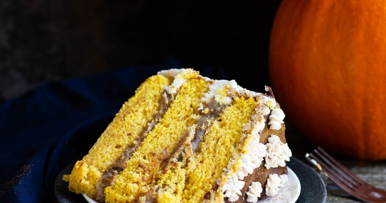 Pumpkin Churro Cake
