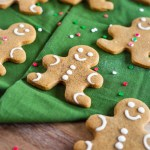 Gingerbread Men Cookies. Soft, flavorful gingerbread men cookies. All the spices of Christmas in a chewy, delicious cookie.