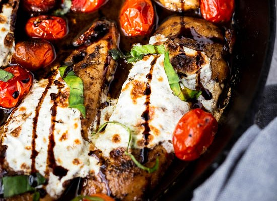 Brown Sugar Caprese Chicken