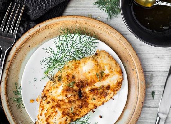 Lemon Dill Fried Chicken