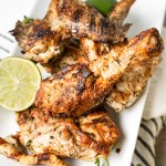 Chicken marinated with Mazola® Corn Oil, cilantro, and lime, then grilled to have a perfectly crunchy outside and juicy inside! This Grilled Cilantro Lime Chicken is a simple and quick, yet delicious dinner!