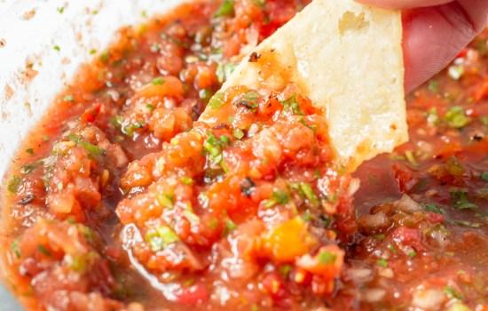 Best Blender Salsa