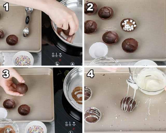 Hot Chocolate Bombs - Sugar Spun Run