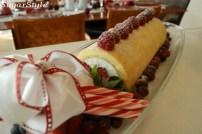 ホワイトチョコレートクリームのビッシュ.ド・ノエル