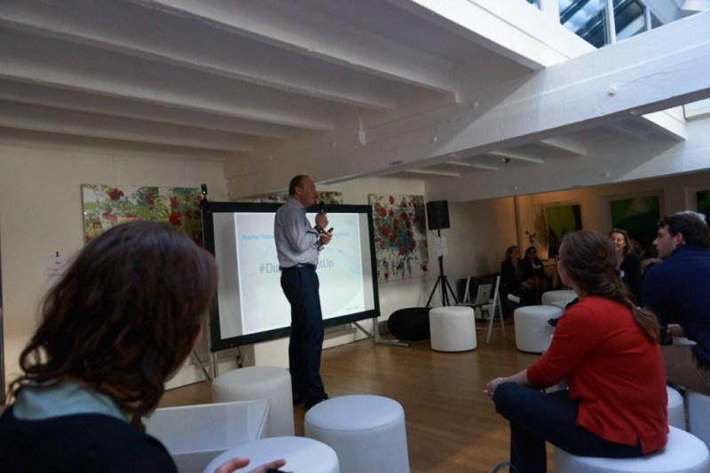 Smarte Alarme beim  Diabetes Meetup in Paris