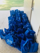 We made 50 safety kits for the Guardian Ad Litem program