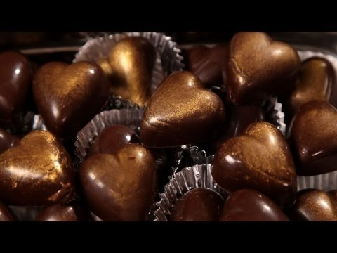 How to Add Filling to a Chocolate Mold | Candy Making