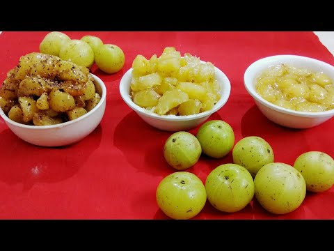 Instant amla candy 3  different style sweet candy masala candy ,murrabba easy and quick recipe