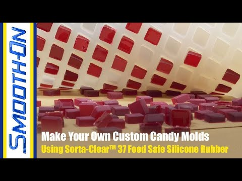 How to Make Your Own Food Safe Silicone Candy Mold