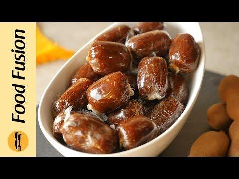 Imli Toffee (Tamarind candy)   Recipe By Food Fusion